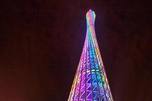 torre de cantão na china foto