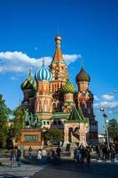 São Basílio Moscou foto