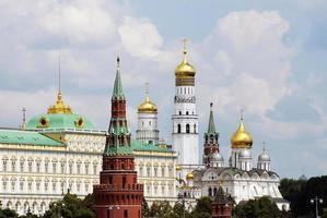 o kremlin, moscou, rússia foto