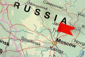 apontando Moscou