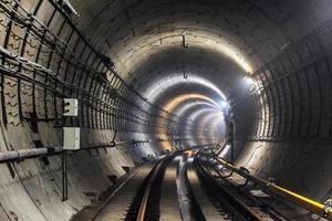 novo túnel do metrô foto