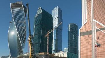 torre de escritórios? em construção foto