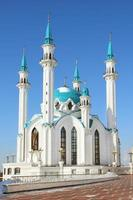 Mesquita de kul sharif em kazan kremlin - rússia foto