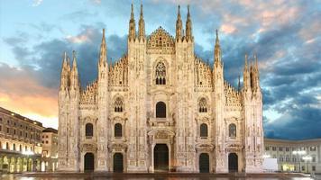 Milão - Duomo foto