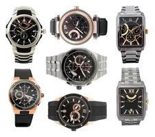 conjunto de relógios masculinos foto