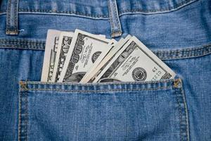 bolsos de dinheiro foto
