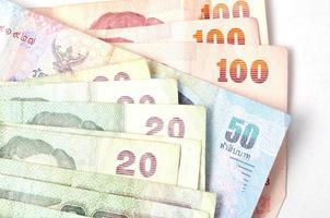 dinheiro da tailândia foto