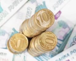 dinheiro russo foto