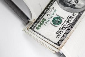 dinheiro em dólares americanos foto