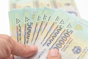 Vietnã de dinheiro (dong)