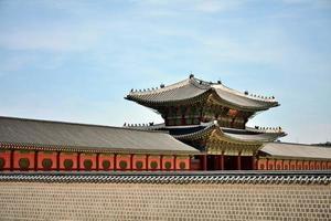 palácio gyeongbokgung, seul, coréia foto