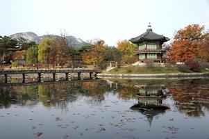 o pavilhão hyangwonjeong foto