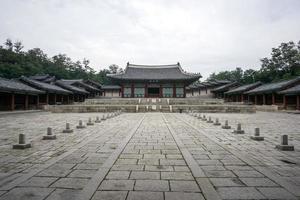 cenário do palácio de gyeonghui gung foto