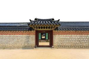 coréia parede e porta foto