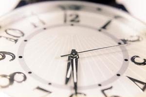 relógio de pulso de perto