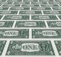 pilha de dólares como plano de fundo foto