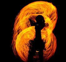 show de fogo foto