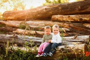 crianças foto