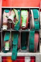 cabo de pneu de fogo. foto