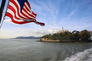 ilha de alcatraz foto