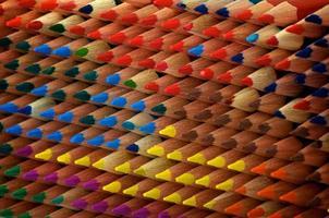 colorir lápis textura foto