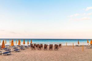 praia de mondello foto