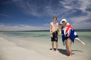 praia da austrália foto