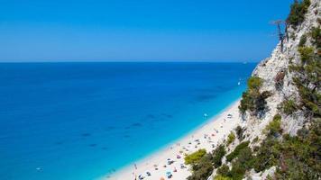 praia grega foto