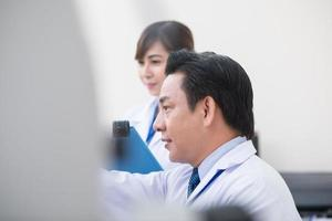 optometrista profissional foto