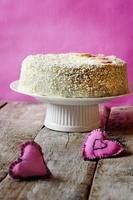cheesecake groselha foto