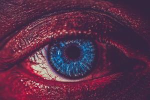 olho close-up