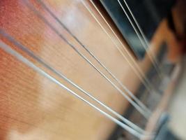 vintage: close-up de bandolim foto