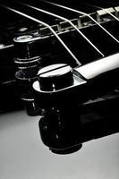 close-up de guitarra