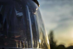 close-up do farol foto