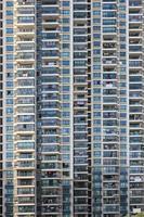Xangai apartamentos close-up foto