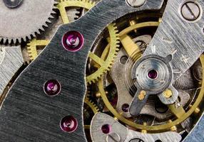 close-up de um relógio foto