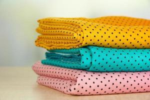 tecidos de pano close-up