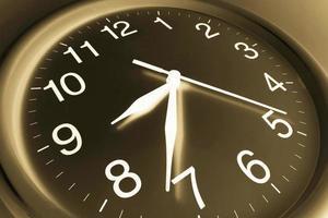 close-up do relógio foto