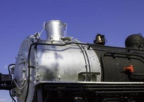 trem locomotivo close-up foto