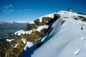 pico da montanha close-up