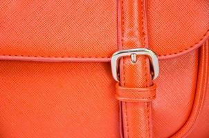 bolsa de couro close-up foto