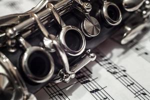 clarinete close-up foto