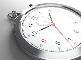 close-up do relógio