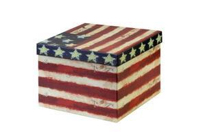 caixa de presente americana