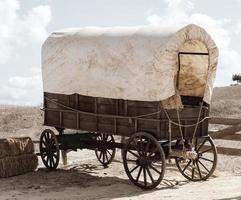 carrinho ocidental foto