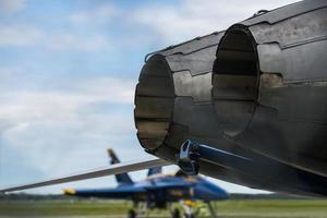 motores de avião de combate foto