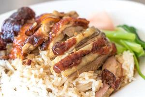 arroz de pato foto