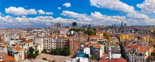 panorama de istambul turquia foto