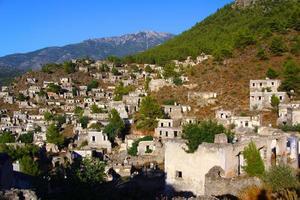 Kayakoy, Fethiye, Turquia foto
