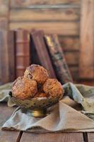 muffins de cenoura foto